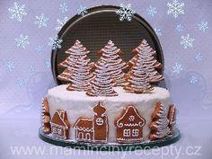 Perníkový dort Advent, Birthday Cake, Recipes, Food, Pies, Birthday Cakes, Essen, Meals, Eten