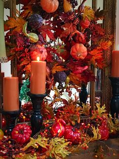 The Tuscan Home: DIY Farmhouse Box - Decorated For Fall (Video)