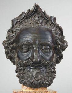 Henri IV by Matthieu Jacquet (1545-1611) Bronze; 12 1/2 x 8 9/16 x 9 3/16 in. Musée du Louvre, Paris
