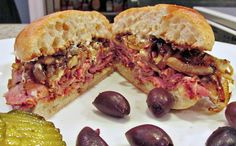 Tri-Tip Sandwich With Balsamic Caramelized Onions