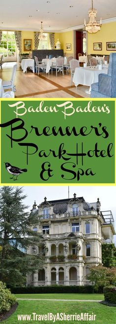 This magnificent hotel in the equally magnificent city of Baden Baden, is a must stay. A 5 star hotel that deserves every star.  Service is friendly, the Spa is tranquil and the rooms are beautiful.  Centrally located in Germany to have short drives to several areas on your bucketlist.  #Brenners #Hotel #BadenBaden #Germany #5starhotel #Spa