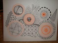 zentangle + spirograph = fun now i need a spirograph! thanks