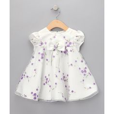 on #SALE  Gerson & Gerson-Ivory Embroidered Dress  Was:$40.00  60%OFF  NOW:$16.99  #baby #kids #sale #deals #bargains  #dresses #girls #boys #outfits