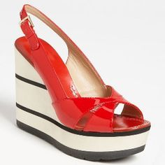 Kate Spade New York - Sandal - Red - 40% DISCOUNT