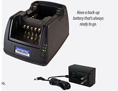 Endura MultiChemistry 2Bay Radio Battery Charger for RELM  BK King Series Radios 120 VAC 12V24V DC operation with Optional DC Kit Not Included Works with RELM  BK King BK KNG Series  KNGP150  KNGP400  KNGP500  KNGP800 * Check out this great product.