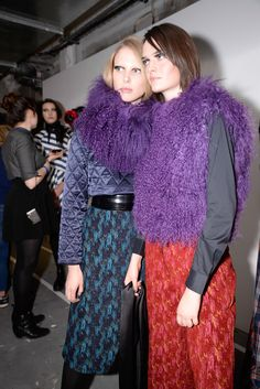 Thinking about a feminine, stardust like syle in fur & coluours for next winter. It's for girls and women who like fashion. From House of Holland, fw15 collection.