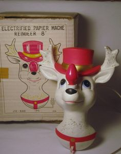 Hey, I found this really awesome Etsy listing at https://www.etsy.com/listing/163427819/rare-vintage-christmas-rudolph-the-red
