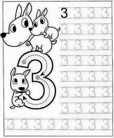 New System-Suitable Numbers Line Study - Preschool Children Akctivitiys Preschool Writing, Numbers Preschool, Free Preschool, Math Numbers, Preschool Printables, Preschool Lessons, Preschool Learning, Kindergarten Worksheets, Teaching