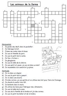 French Language Lessons, French Lessons, French Worksheets, French Education, French Classroom, French Resources, Future Jobs, Word Puzzles, Teaching French