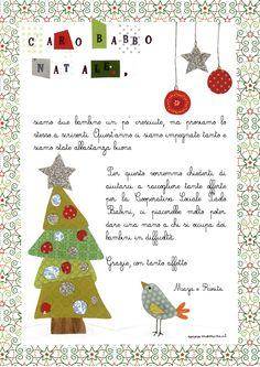 Letterina Babbo Natale - printable writing paper
