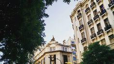 Banco Nación #architecture #arquitectura #building #bâtiment #instapic #beautiful #instapic #historique #history #trees #arbres #leaves #feuilles #evenning #atardecer #sky #ciel #cielo #tribunales...