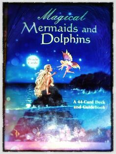 Magical Mermaids and Dolphins Oracle Card by MiraInvenietis, $20.00