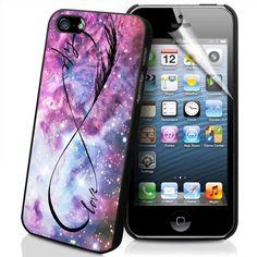 INFINITY LOVE NEBULA Iphone 5 case