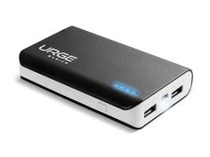 URGE 6000mAh Power Bank Rescue Your Gadgets with This Slim & Mighty, Dual-Port Portable Battery!