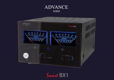 L'ampli de puissance Advance BX1 est capable de délivrer 2x150 Watts sous 4 Ohms. Il embarque des entrées RCA et XLR, ainsi que de gros Vu-Mètres en façade ! Idéal en association avec les électroniques SmartLine PX1, AX1, SX, MX1 et CD1. |  #AdvanceAcoustic #BX1 #Amplificateur #Ampli #HiFi