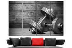 gym wall art gym decor gym wall decor gym art home gym decor gym print gym motivation fitness motivation workout motivation crossfit motivation fitness decor print for gym canvas for gym  ==========  Imagine prints with amazing color fidelity for the most demanding. We use high quality canvas and Ink, combining extreme print quality and high print speeds in production canvas wall decor for your home & office. This gallery wrapped canvas is stretched on durable pinewood framework with 1,5…