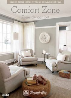 Colour Comes Home Comfort Zone Collection by #BeautiTone