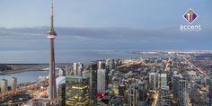 Today's Daily Photo from Toronto comes from photographer Empty Quarter. A skyline photo of Toronto looking West. Visit Toronto, Toronto Travel, Toronto Canada, Bilbao, Monte Carlo, Valencia, Vancouver, Costa, Tokyo
