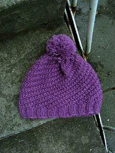 Siskoneule: Pihla-pipon ohje Knitted Hats, Knit Crochet, Diy And Crafts, Winter Hats, Colours, Knitting, Pattern, Yarns, Fashion