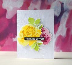 Altenew-Floral Fantasy card by Laura Bassen