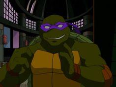 Is it weird to think Donnie looks kinda cute right now <<< no, he looks very cute and he's always very cute. no matter what he's doin! Ninja Turtles Shredder, Ninja Turtles Art, Teenage Mutant Ninja Turtles, Tmnt 2012, Turtles Forever, Tmnt Leo, Ninja Girl, Turtle Love, Fandoms