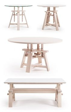 Wooden Astructure table