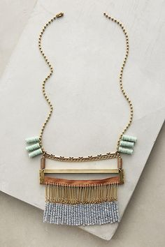 Collage Necklace - anthropologie.com