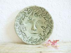 Ceramic Goddess Bowl in Spring Green, Trinket Dish by MyMothersGarden