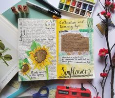 FREE Art Journal Prompts every day at creativepassport.org