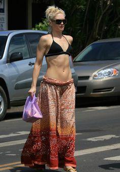 Gwen Stefani Bra Size and Body Measurements