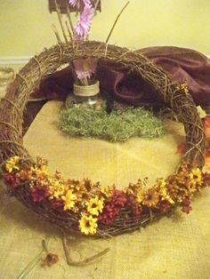 how to do i yourself fall wreath