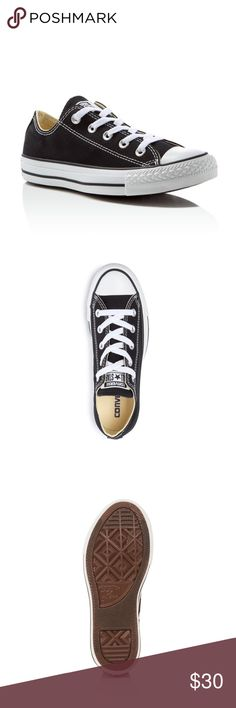 NWT BLACK KIDS CONVERSE Classic chuck Taylor's! So cute/ practical. They are a unisex size 11t. Converse Shoes Sneakers