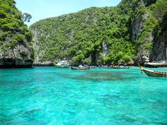 Phi Phi Islands, Thailand.  Been there.