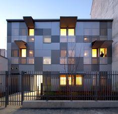 Rmdm arquitectos: 10 apartamentos de muy alto rendimiento - vivienda de interés social, paris
