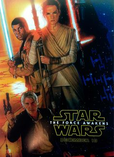 """Star Wars : Episode VII - Le Réveil de la Force est un film de J.J. Abrams avec Daisy Ridley, John Boyega. Synopsis : Dans une galaxie lointaine, très lointaine, un nouvel épisode de la saga """"Star Wars"""", 30 ans après les événements du """"Retour du Jedi""""."""
