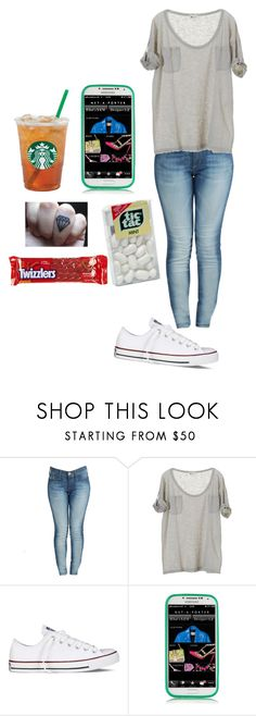 """Chilling with my sis before I go to Philly"" by youknowwhatimsaying ❤ liked on Polyvore featuring True Religion, Vanessa Bruno, Converse, Marc by Marc Jacobs, Gods and Monsters and River Island"
