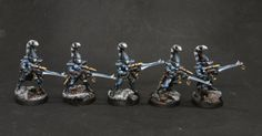 Serpentarium: Space Eldar Army: Dire Avengers