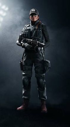 Rainbow Six Siege - Ash