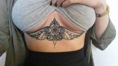 Sternum/Underboob Tattoo's : Photo