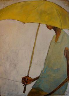 'Side of the Road' (2008) by American artist Olivia Pendergast. via soyka62