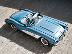The Oldie But Goodie - 1960 Chevrolet Corvette.
