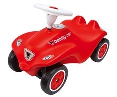 Mit Flüsterreifen Spielzeug New Big-bobby-car Rot