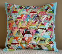 Amanda Jean Nyberg/Crazy Mom Quilts - pillow