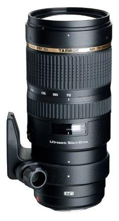 TAMRON 大口径望遠ズームレンズ SP 70-200mm F2.8 Di VC USD ニコン用 フルサイズ対応 A009N タムロンhttp://amzn.to/1umz1wr