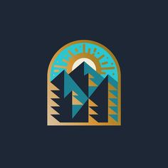 Mountain hangs.  #logo #graphicdesign by whoatotallly
