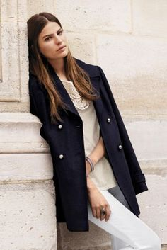 Because every woman needs a trench coat in their wardrobe during ...