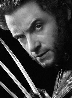 Hugh Jackman as Logan / Wolverine - 'X-Men'. ☚