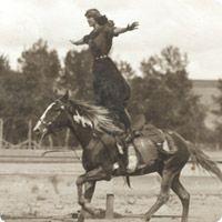 Tillie Baldwin, Roman Riding.