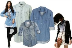 chambray shirts are the bomb