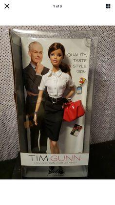 Barbie And Ken, Barbie Dolls, Tim Gunn, Vintage Barbie Clothes, Miniature Crafts, Barbie Collector, Fashion Dolls, Sisters, Designers